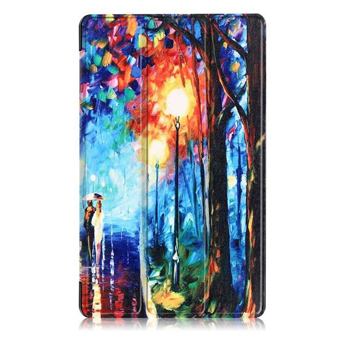 mediapad m3 case with oil painting of van gogh and other The Romantic Road: