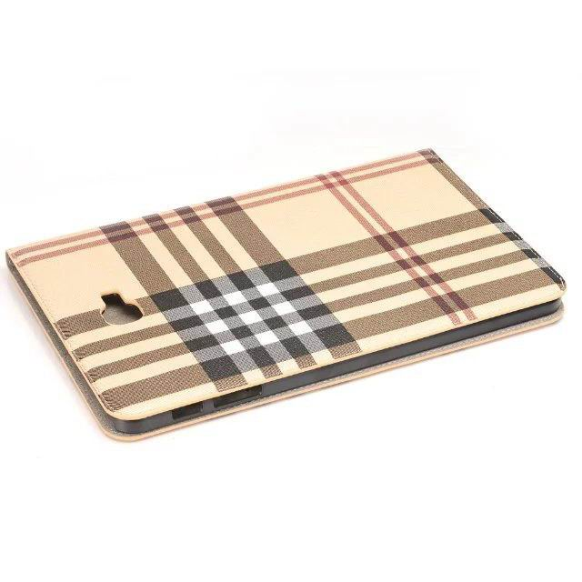 galaxy tab a 10 1 2016 case with plaid pattern and card slots