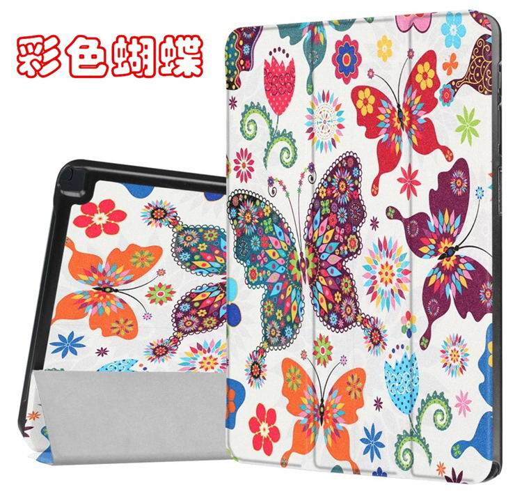 galaxy tab a 10 1 s pen 2016 case with stand and different illustrations 2 Colored butterfly: