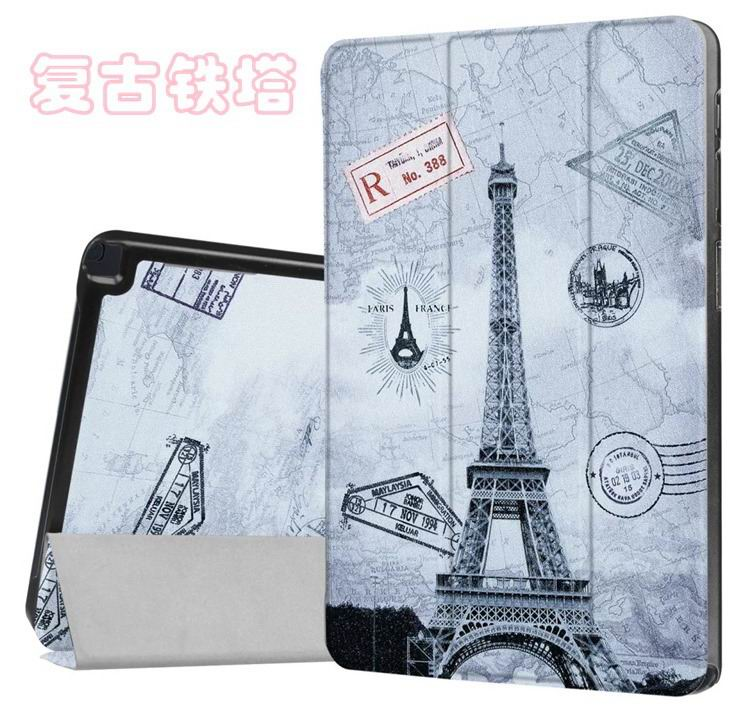 galaxy tab a 10 1 s pen 2016 case with stand and different illustrations 2 Vintage Tower: