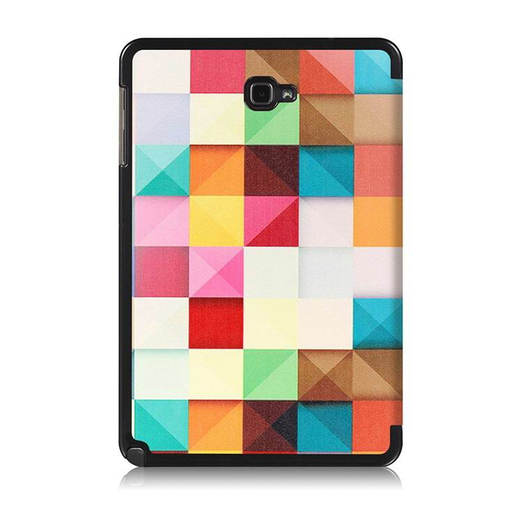 galaxy tab a 10 1 s pen 2016 case with stand and multi painting pattern Magic squares: