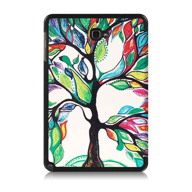 galaxy tab a 10 1 s pen 2016 case with stand and multi painting pattern Joy tree: