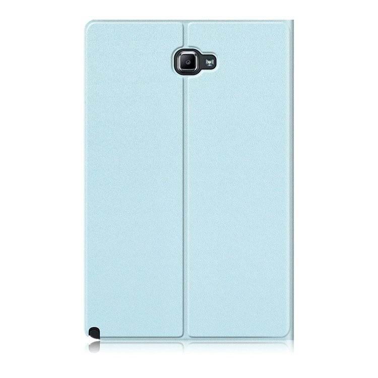 galaxy tab a 10 1 s pen 2016 classic multicolor business case and stand Sky blue: