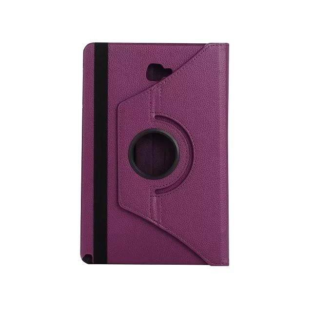 galaxy tab a 10 1 s pen 2016 classic multicolor case with 360 stand Purple: