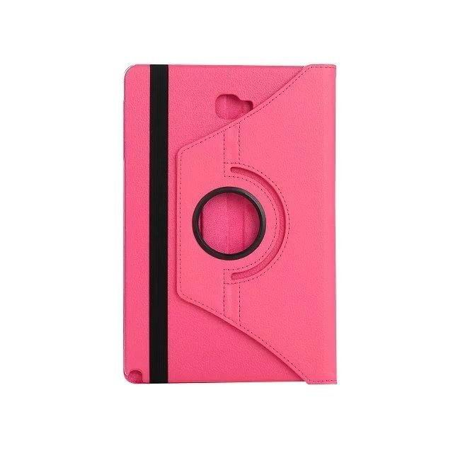galaxy tab a 10 1 s pen 2016 classic multicolor case with 360 stand Rose red: