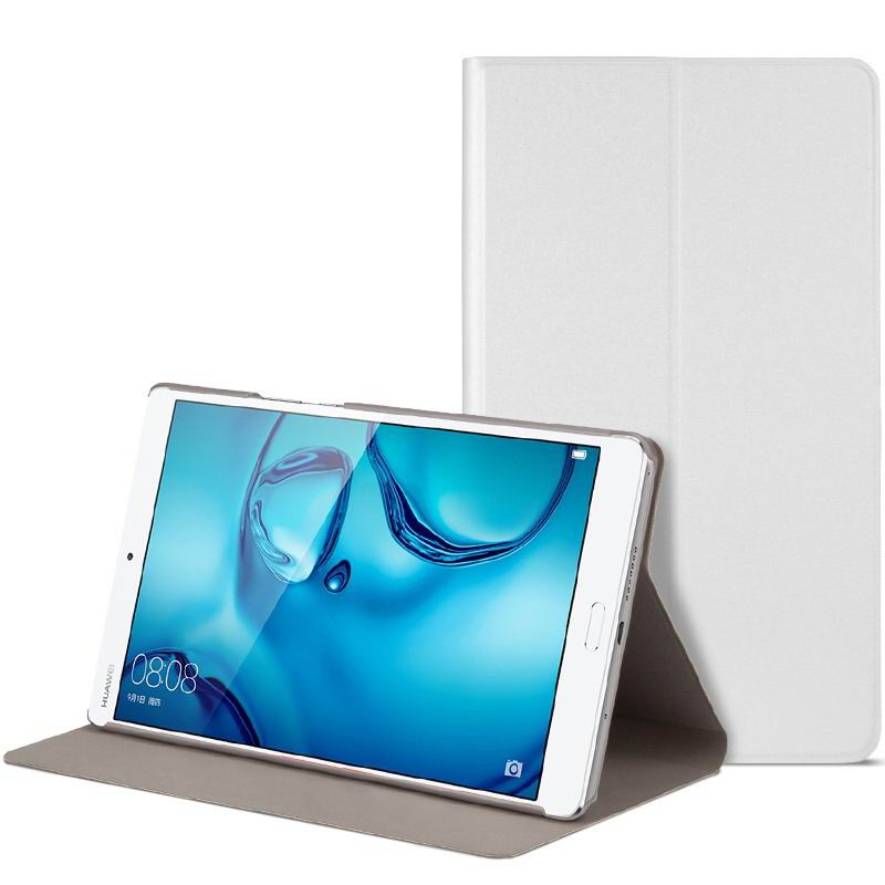 mediapad m3 cute bright case with a picture of owl love and other white-01: