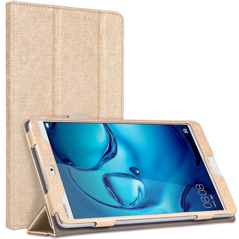 mediapad m3 cute bright case with a picture of owl love and other gold: