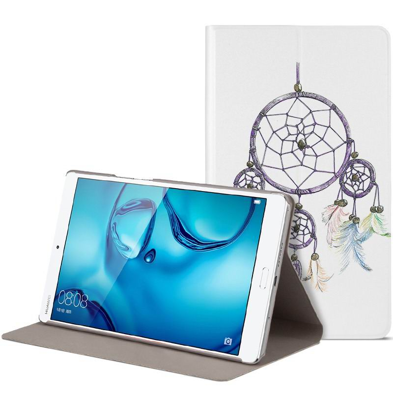 mediapad m3 cute bright case with a picture of owl love and other mystery network: