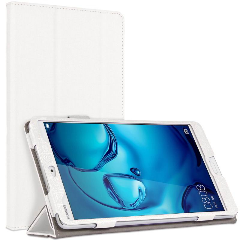 mediapad m3 cute bright case with a picture of owl love and other white: