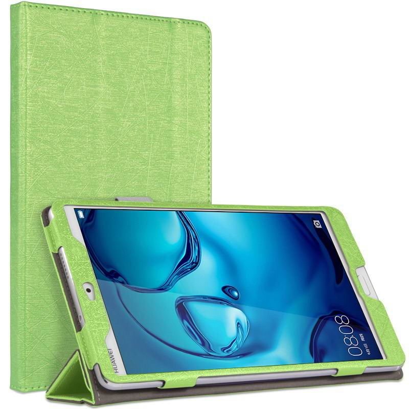 mediapad m3 cute bright case with a picture of owl love and other green: