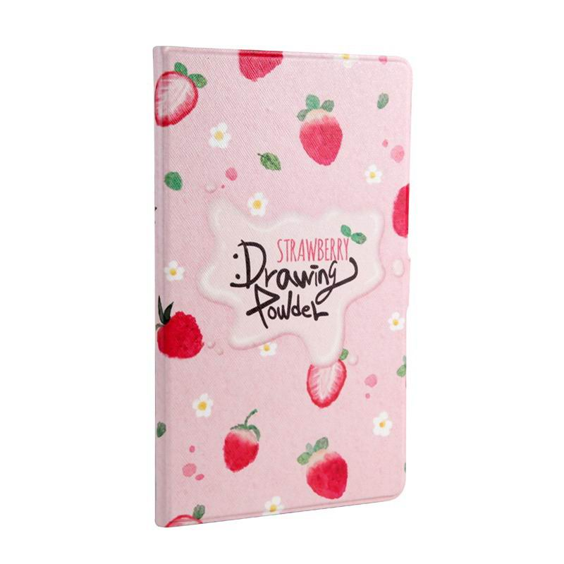 mediapad m3 cute case with cartoon heroes Strawberry:
