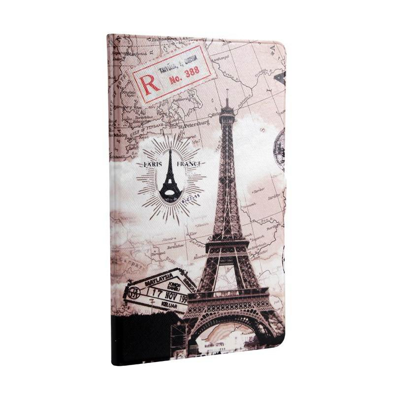 mediapad m3 cute case with cartoon heroes Map Tower: