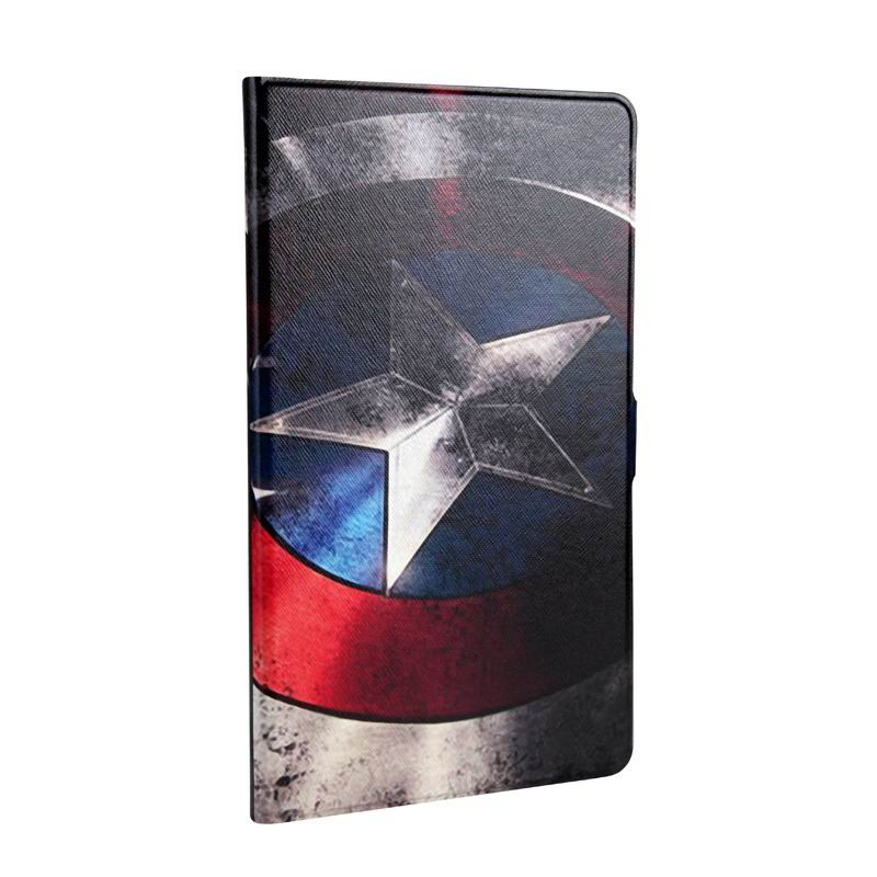 mediapad m3 cute case with cartoon heroes Captain America: