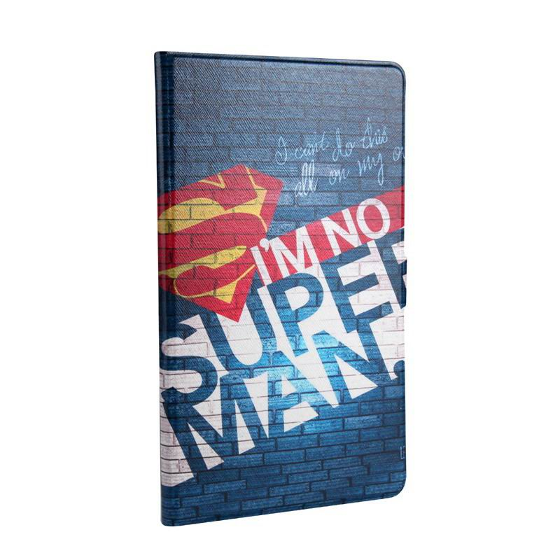mediapad m3 cute case with cartoon heroes I'm not Superman: