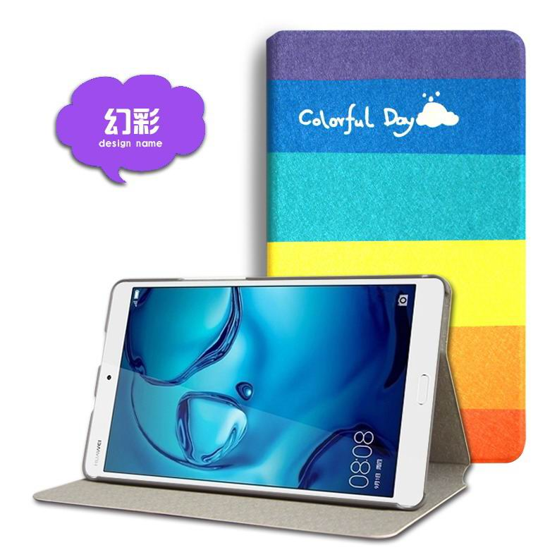 mediapad m3 cute case with cartoon heroes and different pictures Symphony:
