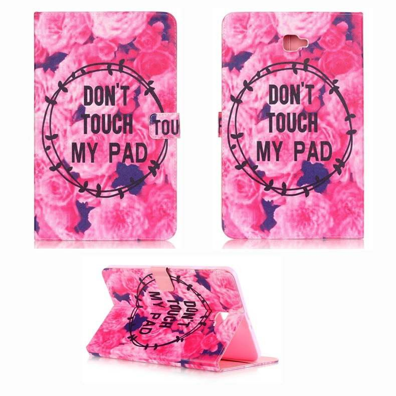 galaxy tab a 10 1 2016 cute case with different patterns and text samsung galaxy tab a 10 1 2016 sm t580 sm t585 2: