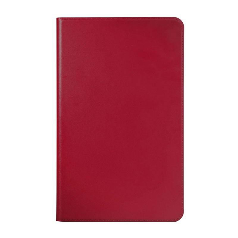 galaxy tab a 10 1 2016 leather business case with card slots samsung galaxy tab a 10 1 2016 sm t580 sm t585 Red: