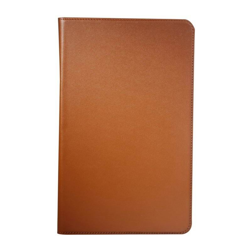 galaxy tab a 10 1 2016 leather business case with card slots samsung galaxy tab a 10 1 2016 sm t580 sm t585 Brown: