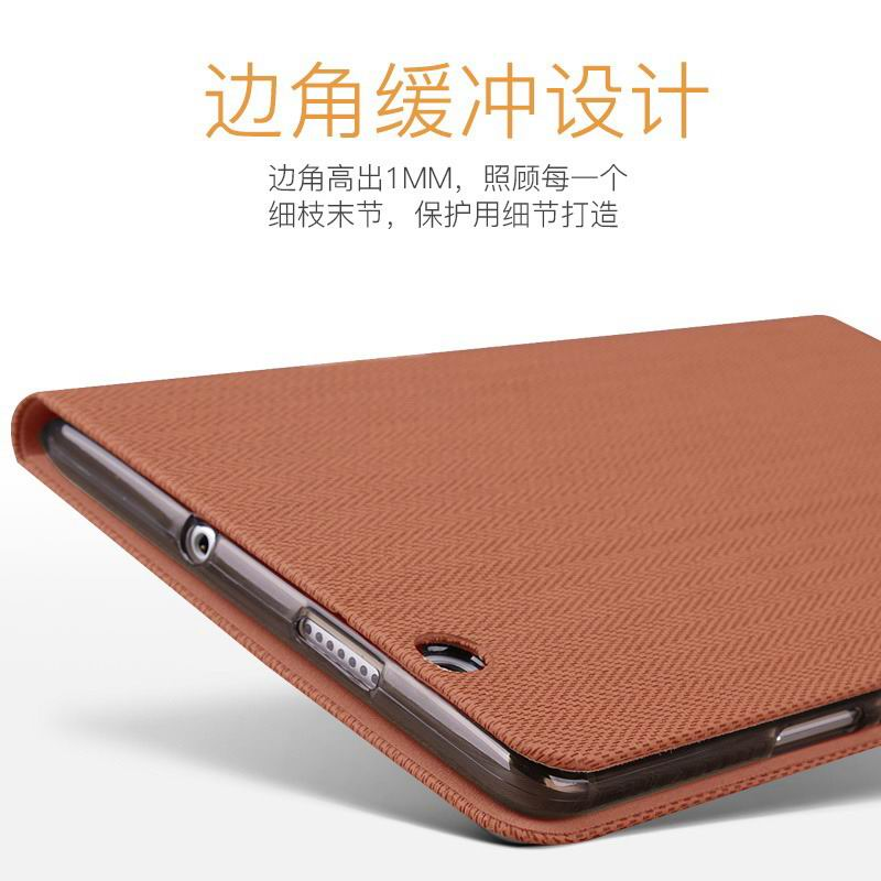 mediapad m3 mofi business waterproof case with tissue pattern