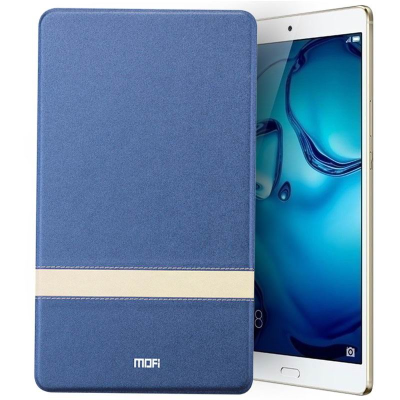 mediapad m3 mofi protective business case with stylish string and stand Starry night blue: