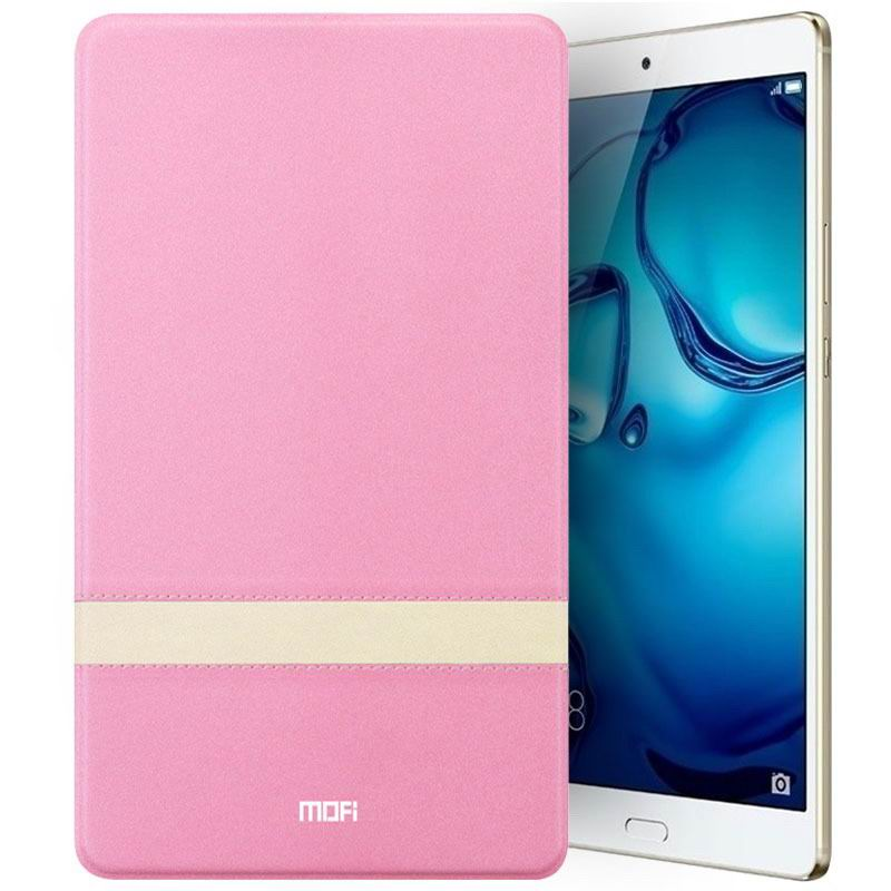 mediapad m3 mofi protective business case with stylish string and stand Bright powder: