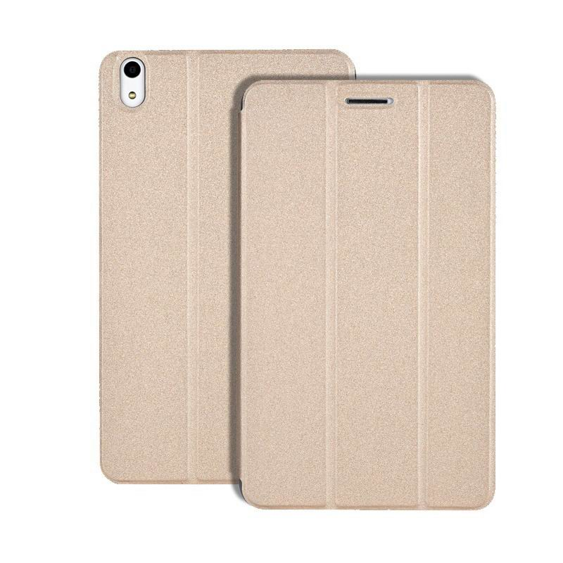 honor pad 2 multicolor business case with stand champagne gold: