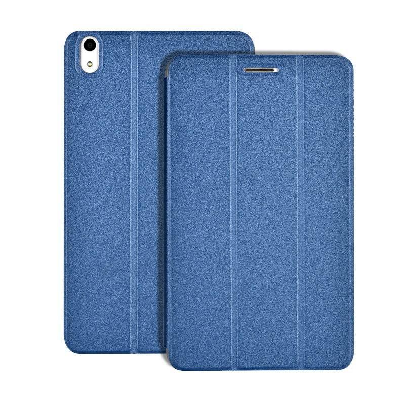honor pad 2 multicolor business case with stand the peaceful blue:
