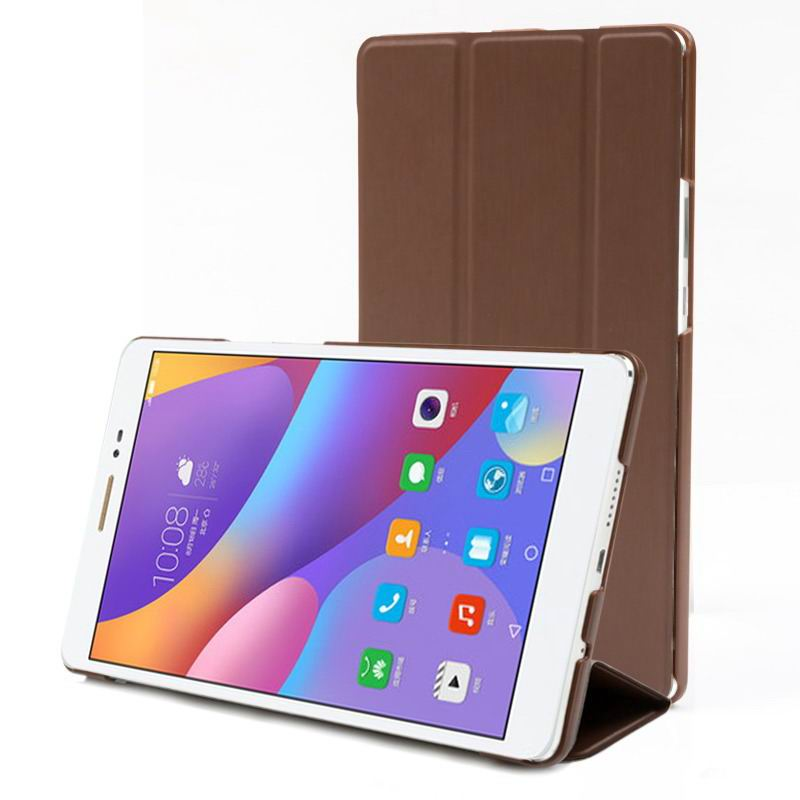 honor pad 2 multicolor business case with stand classical brown: