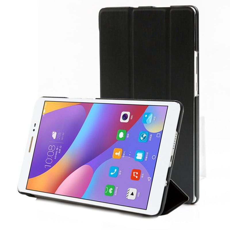 honor pad 2 multicolor business case with stand cool core black: