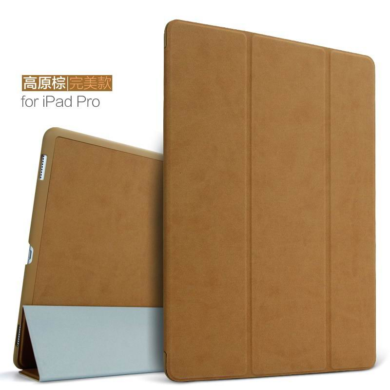 ipad pro 9 inch plain case 2 brown: