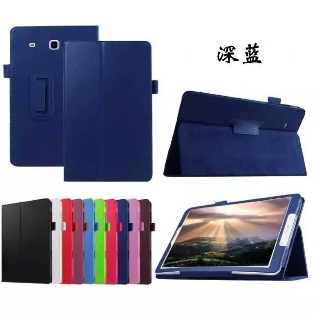 galaxy tab e 8 0 plain case 4 dark blue: