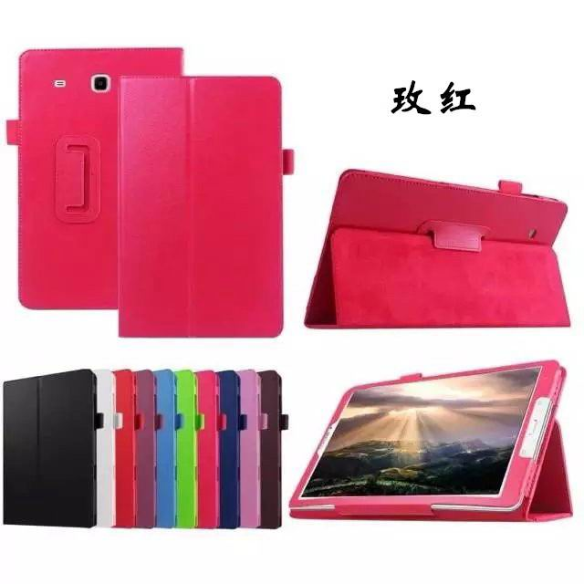 galaxy tab e 8 0 plain case 4 rose red:
