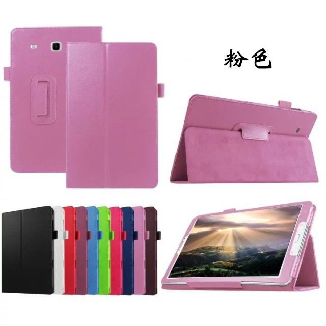 galaxy tab e 8 0 plain case 4 pink: