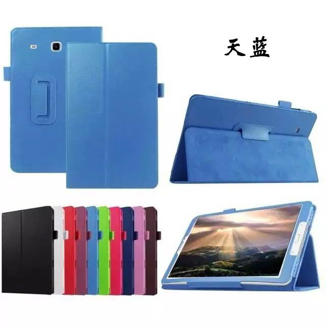 galaxy tab e 8 0 plain case 4 sky blue: