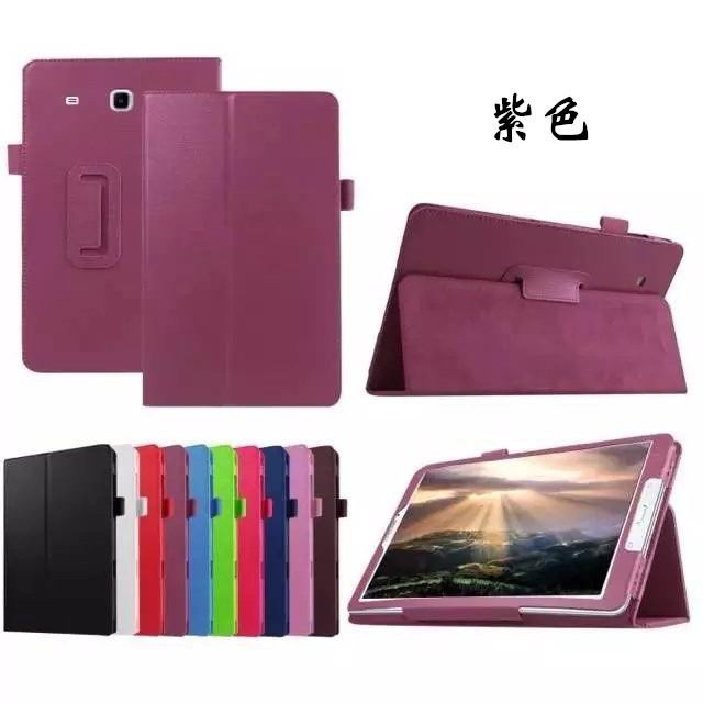 galaxy tab e 8 0 plain case 4 purple: