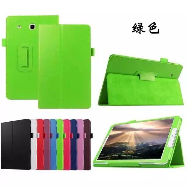 galaxy tab e 8 0 plain case 4 green: