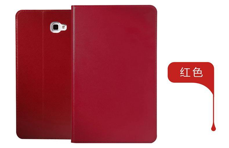 galaxy tab a 10 1 2016 plain case 5 red: