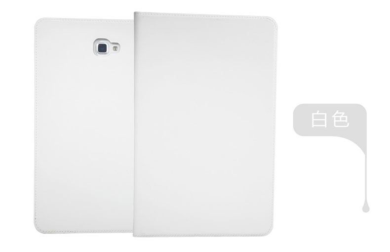 galaxy tab a 10 1 2016 plain case 5 white: