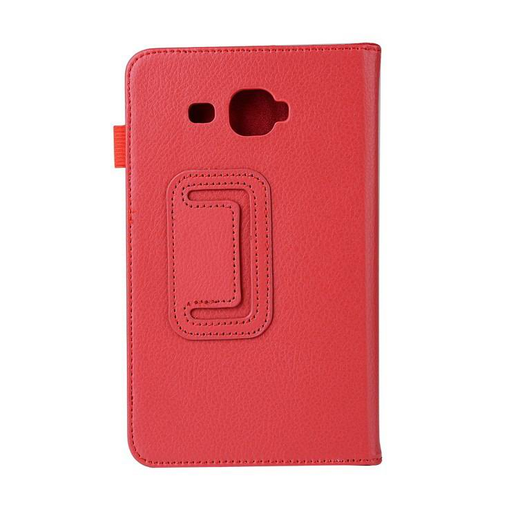 galaxy tab j plain case 7 red: