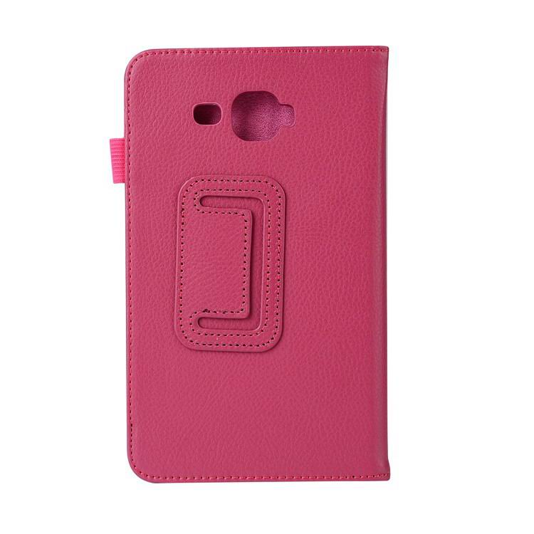 galaxy tab j plain case 7 rose red: