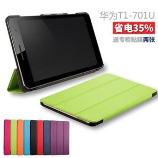 Business case with multicolor pattern for Huawei MediaPad T1 7.0 Plus T1-701u