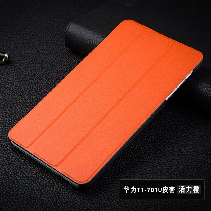 mediapad t1 70 plus plain case 8 orange: