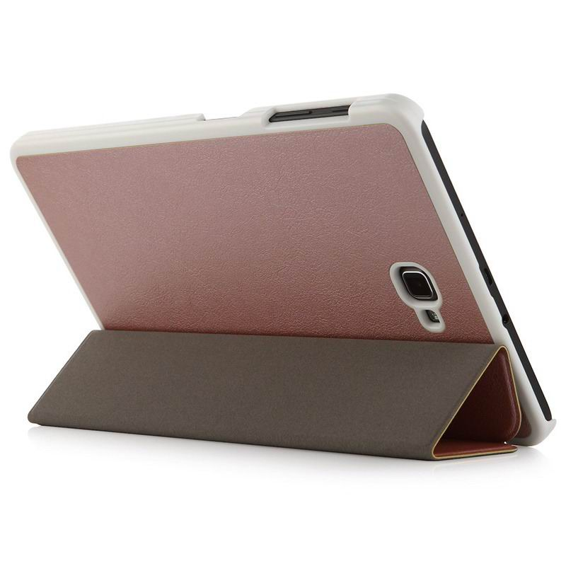 galaxy tab a 10 1 2016 plain case samsung galaxy tab a 10 1 2016 sm t580 sm t585 2 Rose gold foil: