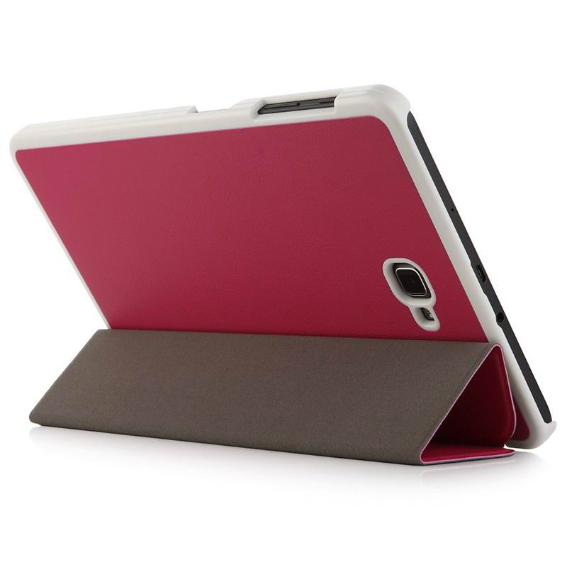 galaxy tab a 10 1 2016 plain case samsung galaxy tab a 10 1 2016 sm t580 sm t585 2 Rose red: