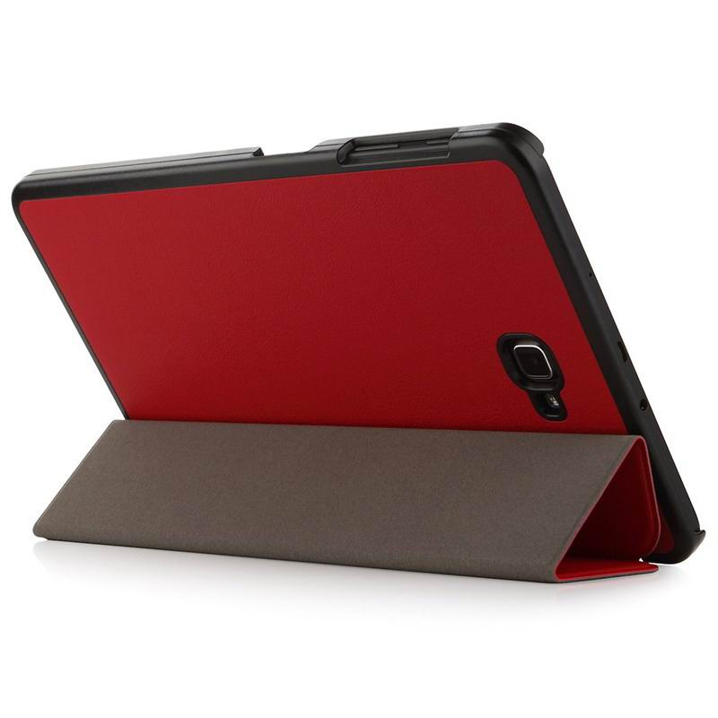 galaxy tab a 10 1 2016 plain case samsung galaxy tab a 10 1 2016 sm t580 sm t585 2 Red: