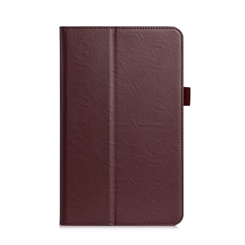 galaxy tab a 10 1 2016 plain case with card section and handle samsung galaxy tab a 10 1 2016 sm t580 sm t585 Brown: