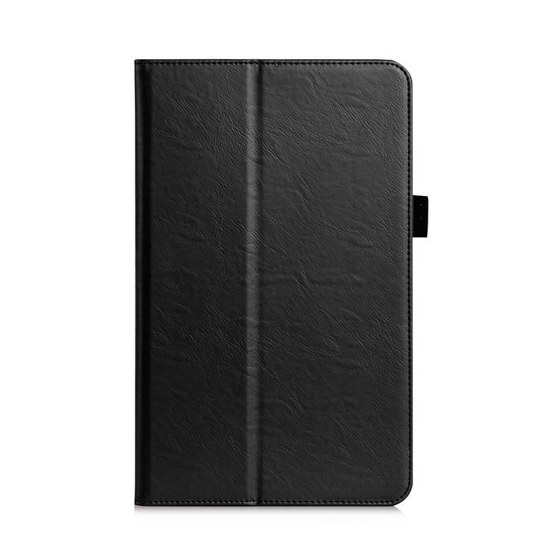 galaxy tab a 10 1 2016 plain case with card section and handle samsung galaxy tab a 10 1 2016 sm t580 sm t585 Black:
