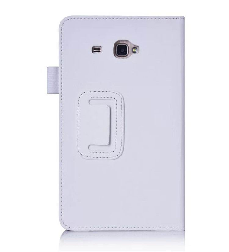 galaxy tab a 7 0 2016 plain case with card sections White: