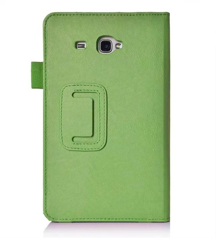 galaxy tab a 7 0 2016 plain case with card sections Green: