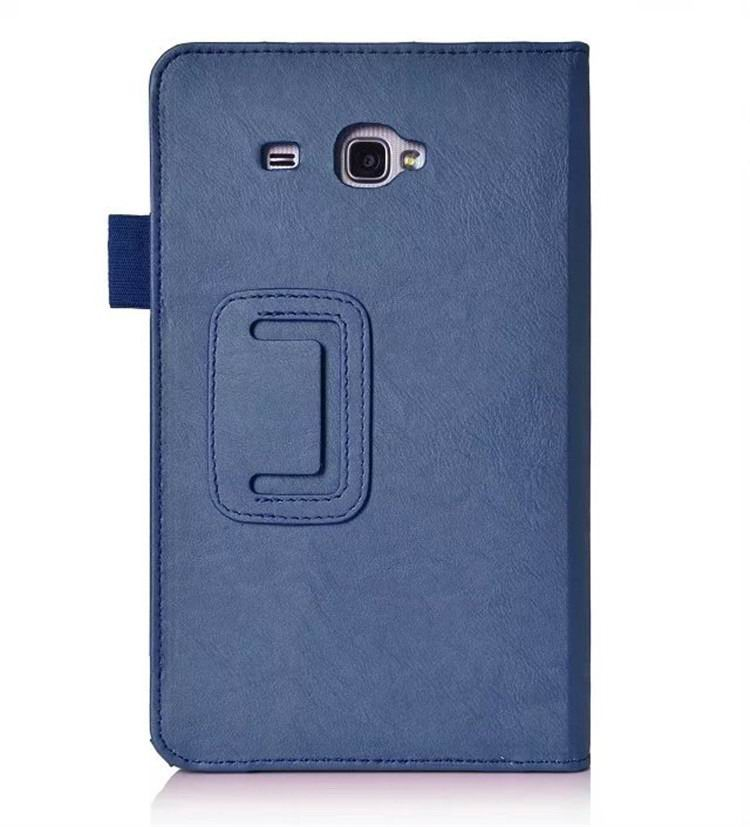 galaxy tab a 7 0 2016 plain case with card sections Blue: